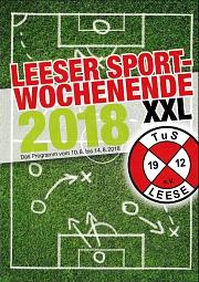 Flyer Sportwerbewoche 2018