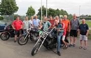TuS Leese Herren 40 mit ihren Gegnern aus Osterwald