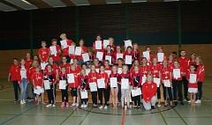 Teilnehmer Vereinsmeisterschaften©TuS Leese