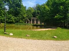 Im Schlossgarten©TuS Leese