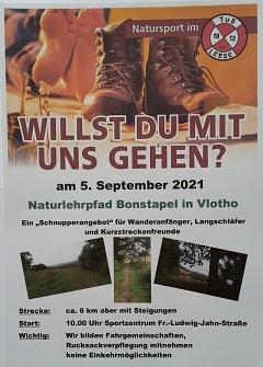 Info Septemberwanderung©TuS Leese