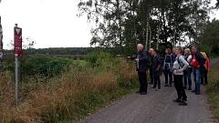 """Infos über das Naturschutzgebiet """"Totes Moor""""©TuS Leese"""