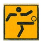 Logo-Fußball