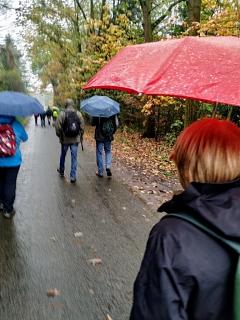 Regenfeste Wanderer©TuS Leese