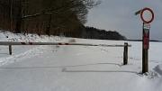 Schweineberg unter Schneedecke