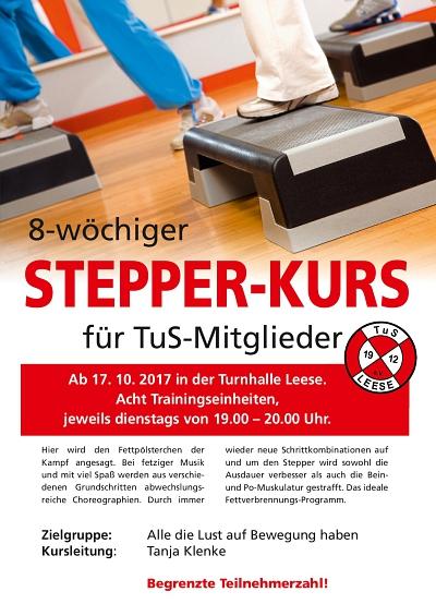 Stepper Kurs Herbst 2017