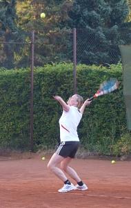 Tennis 2016 - D30 PS5 - Jutta und Marion Aufschlag 1