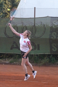 Tennis 2016 - D30 PS5 - Jutta und Marion Aufschlag 2