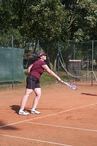 Tennis 2016 - D30 PS6 - Doppel Heike Aufschlag
