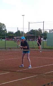 Tennis 2016 - D30 PS6 - Doppel Heike und Petra