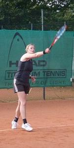 Tennis 2016 - D30 PS6 - Doppel Marion Aufschlag
