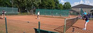 Tennis 2016 - D30 PS6 - Doppel Petra Warteposition