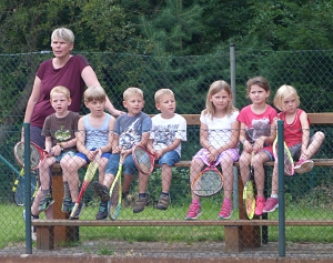 Tennis 2016 - FPA - Die Kleinen sind gespannt