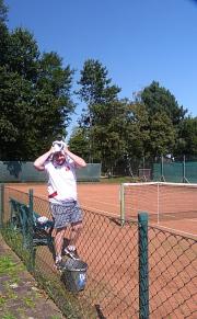 Tennis 2016 - H40 PS5 - Ernie mit Handtuch