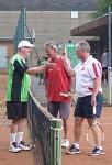Tennis 2016 - H40 PS6 - Doppel Ernie und Marcus gratulieren