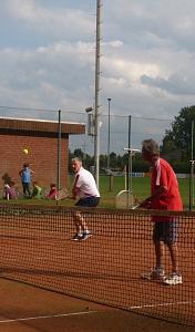 Tennis 2016 - H40 PS6 - Doppel Marcus und Ernie Volley