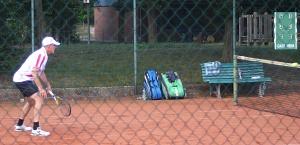Tennis 2016 - H50 PS6 - Henning und Roland Lauerstellung