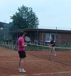 Tennis 2016 - MNT - Katharina gegen Petra