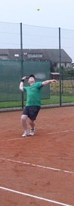 Tennis 2016 - MNT - Stephan wieder voll in Schwung
