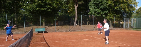 Tennis 2016 - SA - Bernd bereit