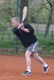 Tennis-Saisoneröffnung 2016 - Ernie Rückhand