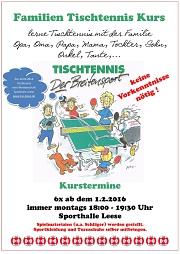 Tischtennis TuS Leese