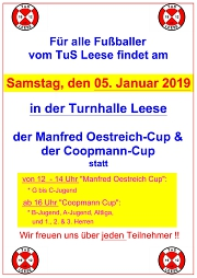 Plakat Coopmann-Cup 2019