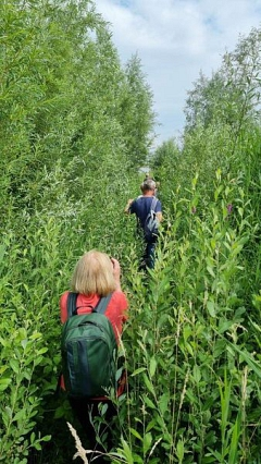 """Unterwegs im """"Dschungel""""©TuS Leese"""