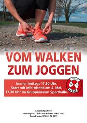 Vom Walken zum Joggen