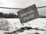 Winterpause Sparte Fußball